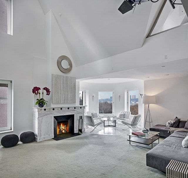 Picture of modern white living room