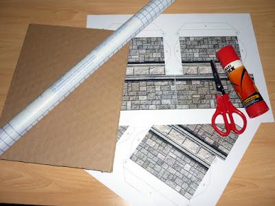 Chapuzas roleros: Nuevos muros para el dungeon