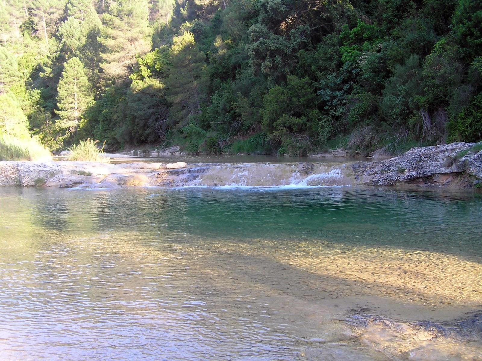 Pozas baño en el Río Ulldemó