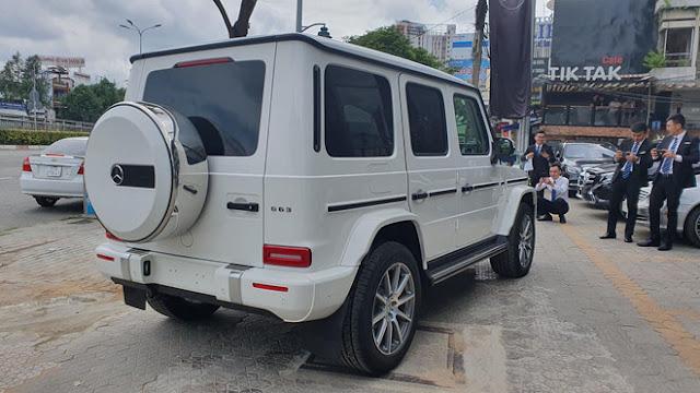 Thêm một chiếc Mercedes-AMG G63 2019 cập cảng Việt Nam, giá gần 11 tỷ đồng