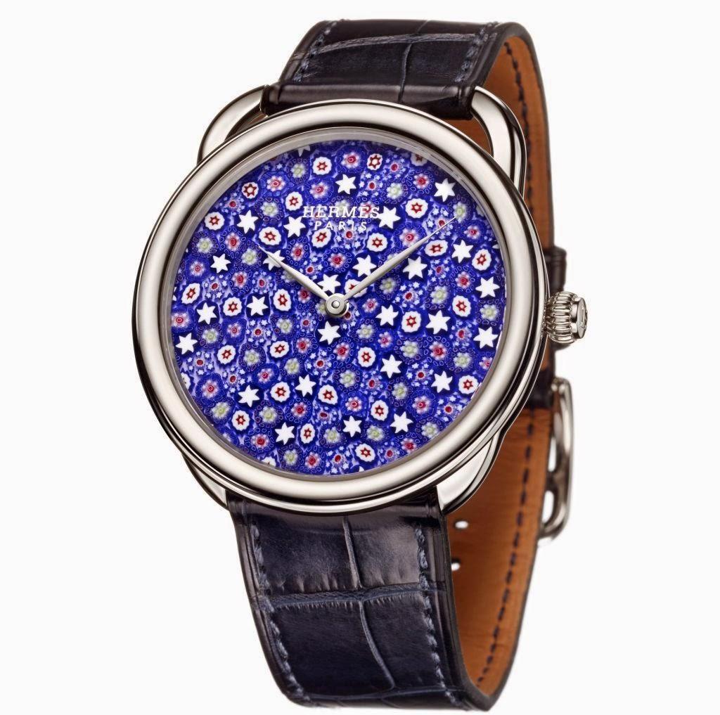 Hermès Arceau Millefiori 41 mm watch