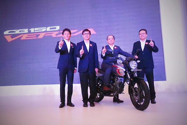 Spesifikasi All New Honda CB150 Verza