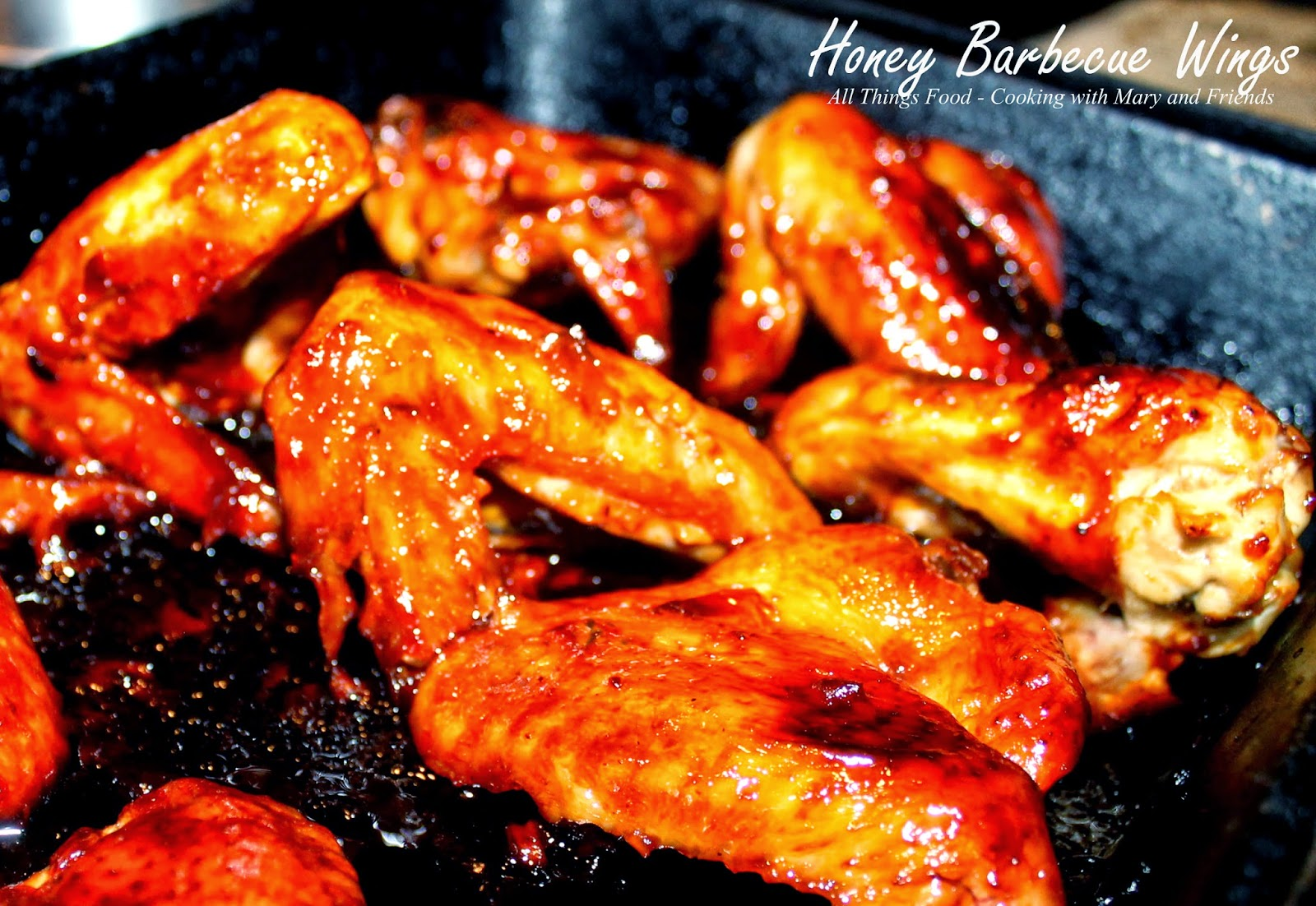 how to make honey barbecue wings