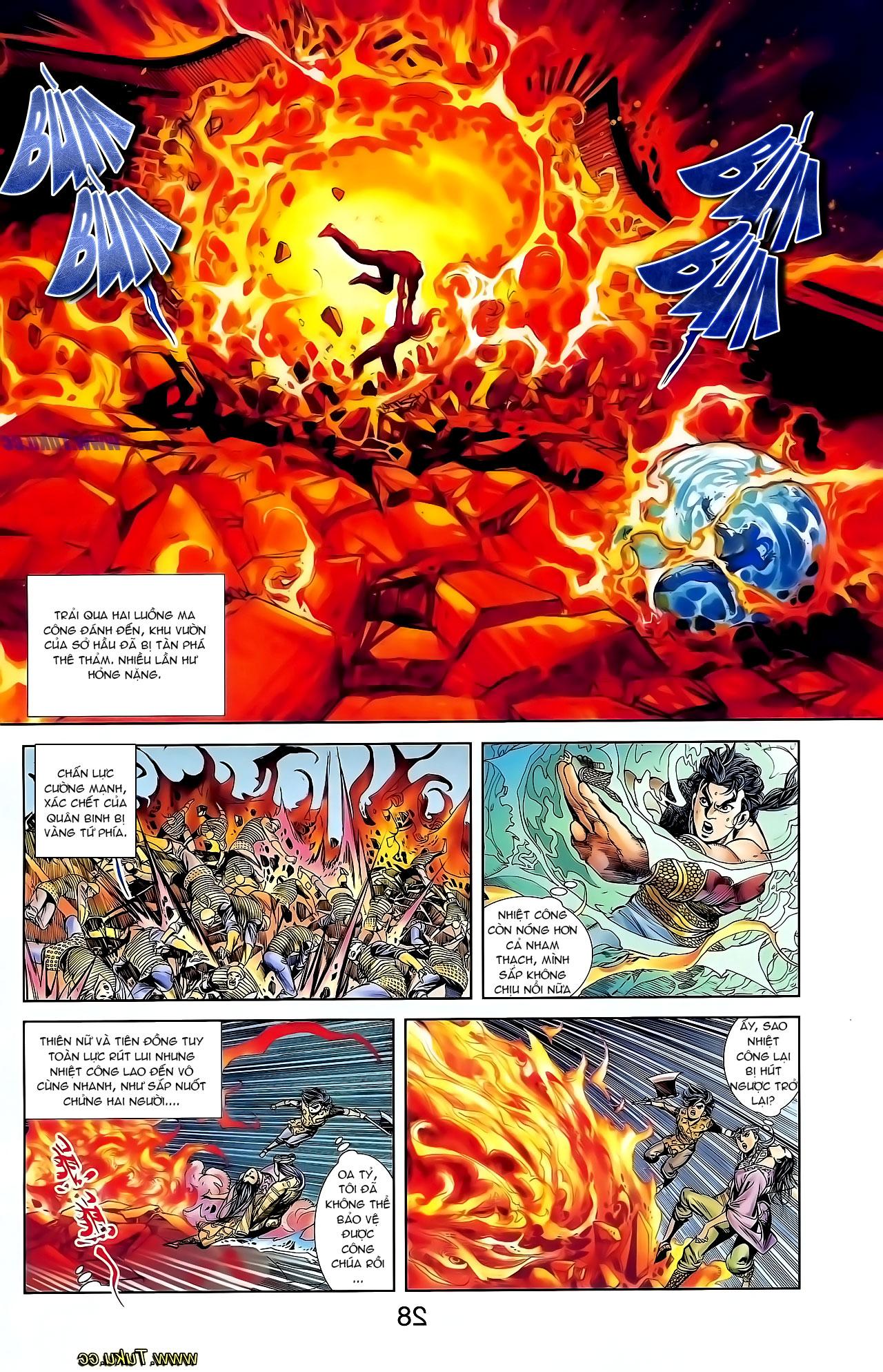 Cơ Phát Khai Chu Bản chapter 126 trang 12