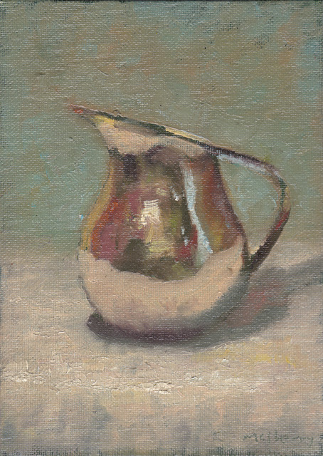still life demonstration oils from life art class in Terenure Dublin auction