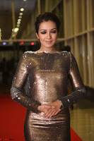 Actress Catherine Tresa in Golden Skin Tight Backless Gown at Gautam Nanda music launchi ~ Exclusive Celebrities Galleries 077.JPG
