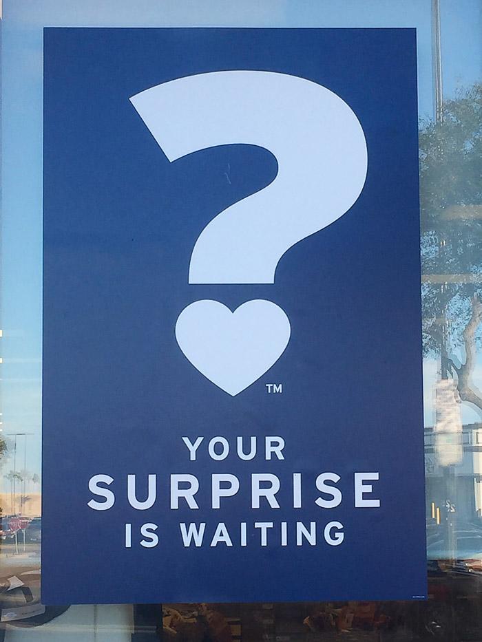 #MarshallsSurprise