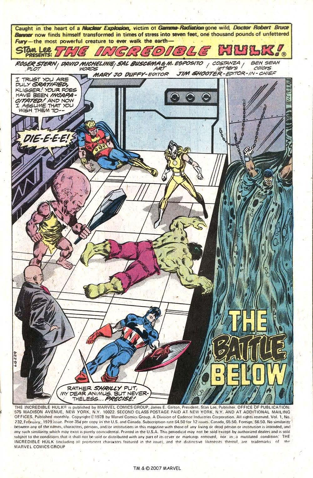 Captain America (1968) Issue #230b #145 - English 3