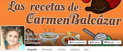 https://www.facebook.com/Lasrecetasdecarmenbalcazar