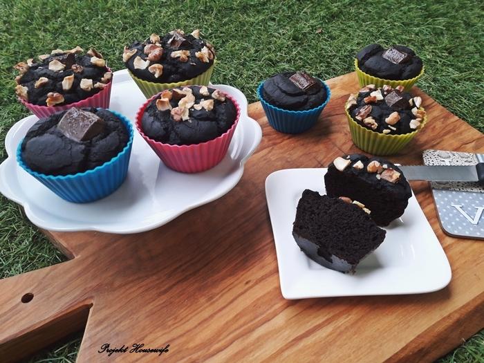 Muffiny z czerwonej fasoli - zdrowe i dietetyczne
