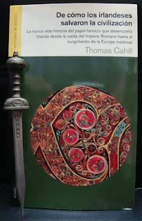Portada del libro De cómo los irlandeses salvaron la civilización, de Thomas Cahill