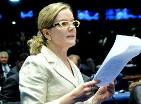 Gleisi Hoffmann praticou corrupção e lavagem de dinheiro, diz PF