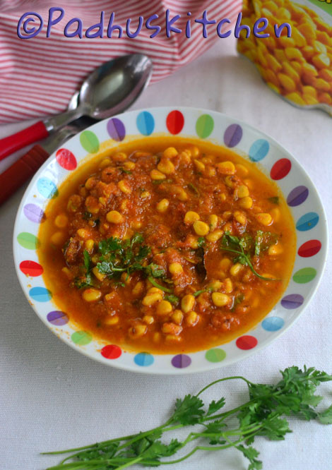 Sweet Corn Gravy