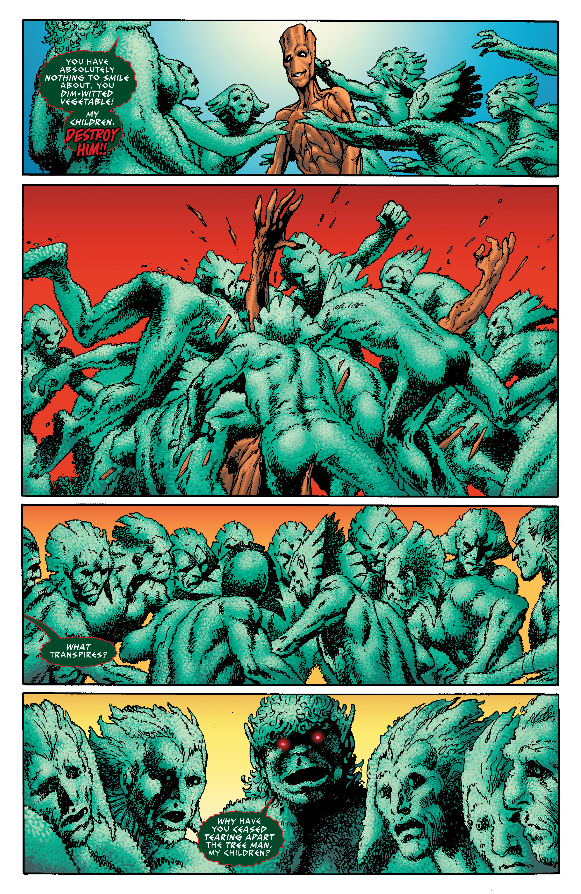 Read online Guardians of the Galaxy: Mother Entropy comic -  Issue #5 - 9