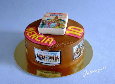 The next step cake