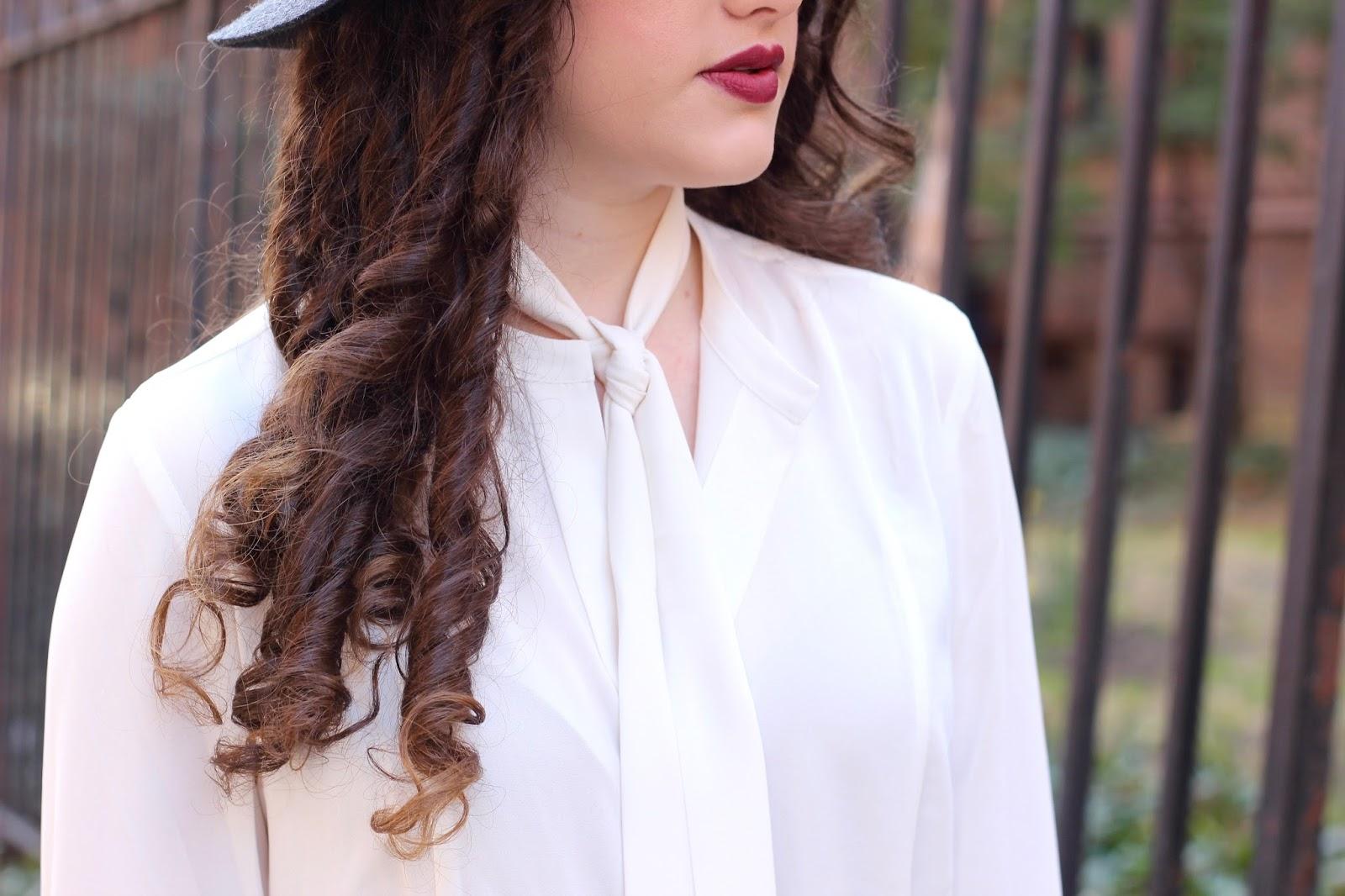 neck scarves street style