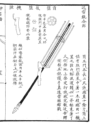 Five Barrel Matchlock Combination Gun