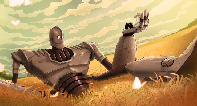 The giant in The Iron Giant