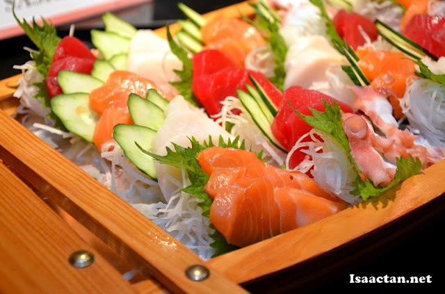 Sashimi Boat for all the sashimi lovers out there
