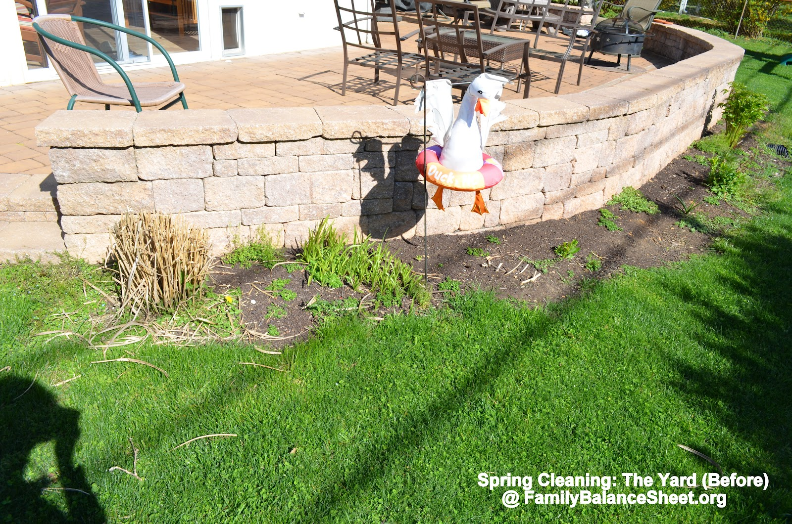 Front Yard Landscaping Spring Clean Up Family Balance