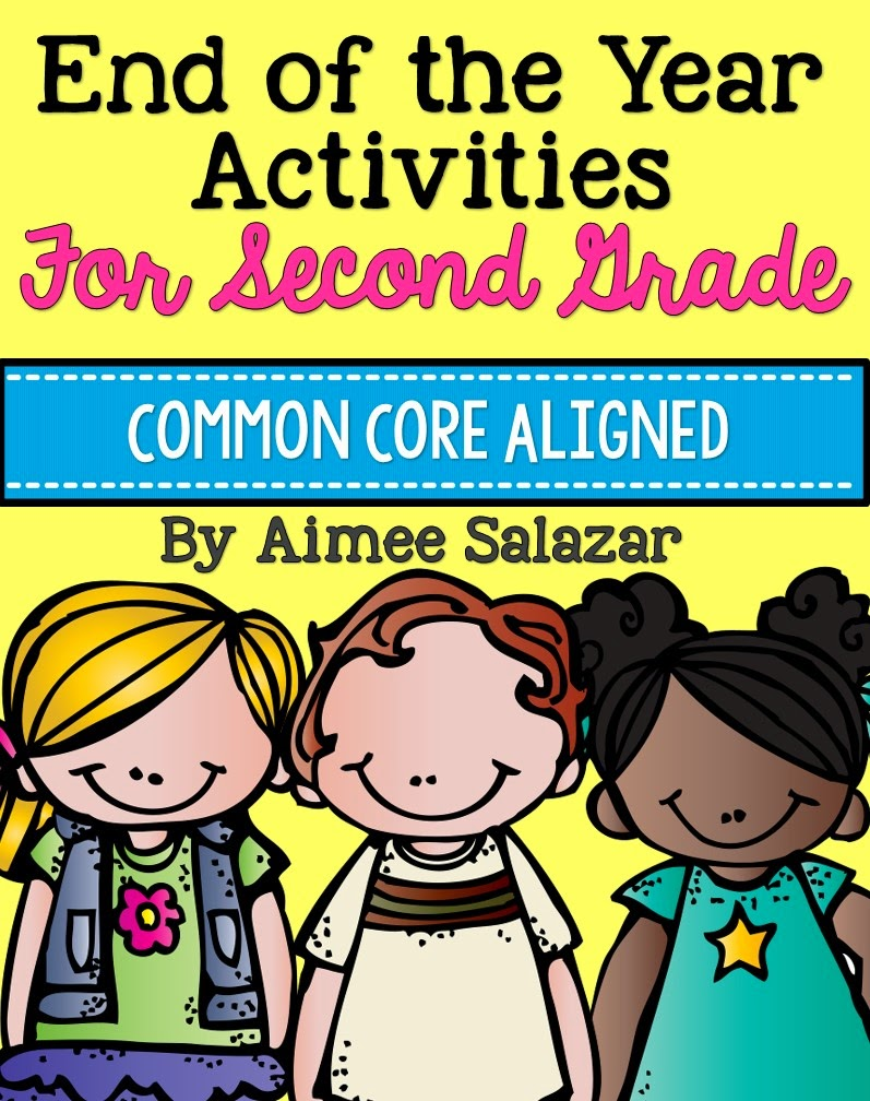 http://www.teacherspayteachers.com/Product/End-of-Year-Activities-for-2nd-Grade-Common-Core-Aligned-233266