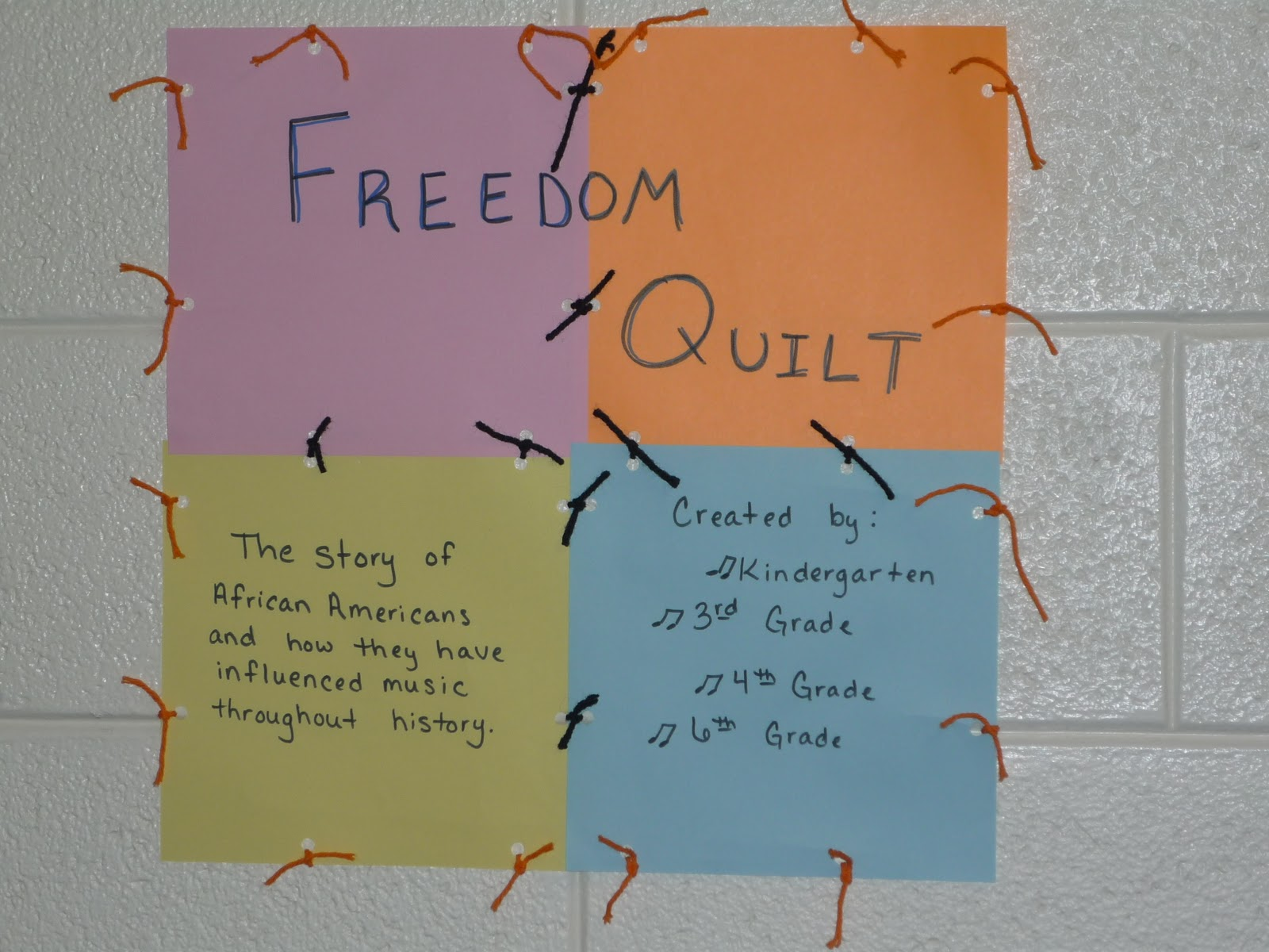 Mrs Mattson S Music Room Freedom Quilt