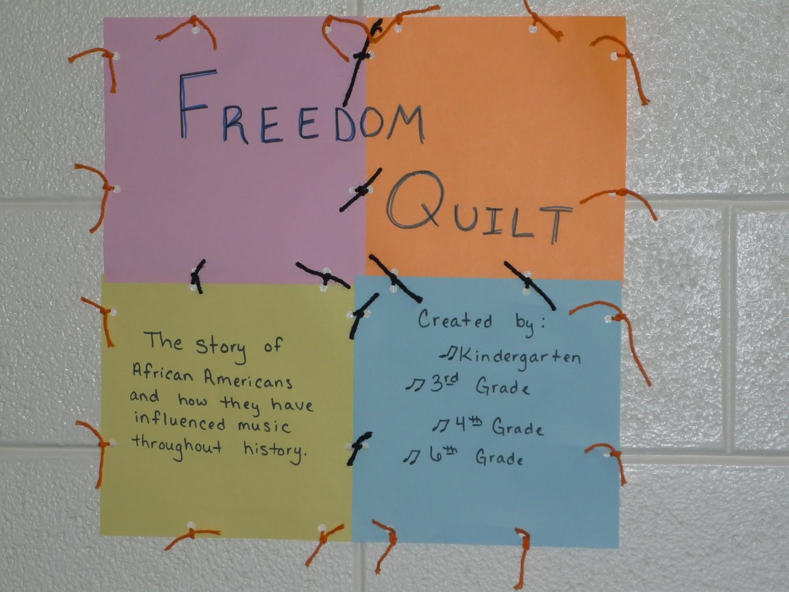 Mrs Mattson S Music Room Freedom Quilt