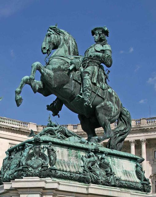 Estátua do Príncipe Eugênio de Sabóia em Viena