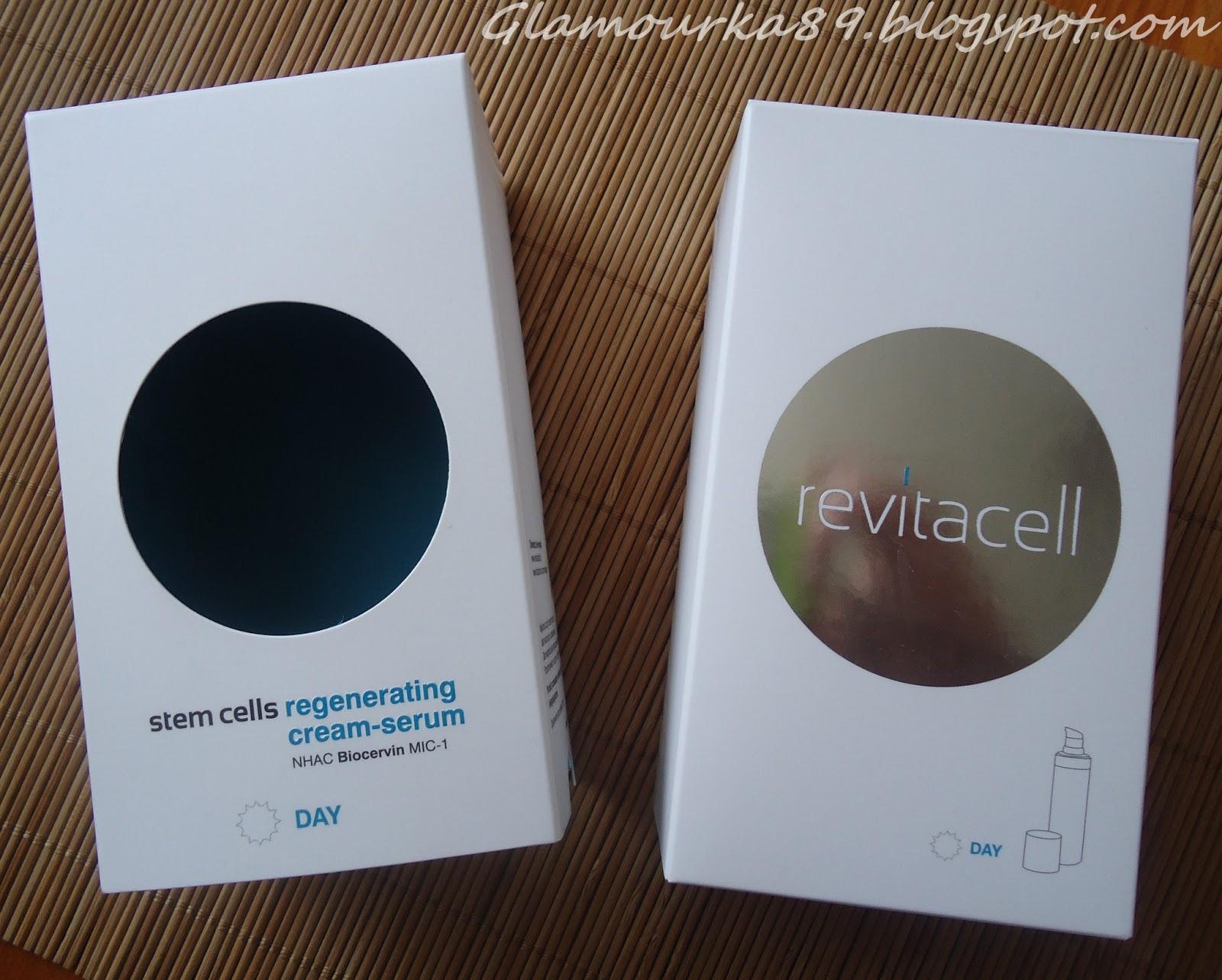 Glamourka89: Revitacell Stem Cells Regenerating Cream..