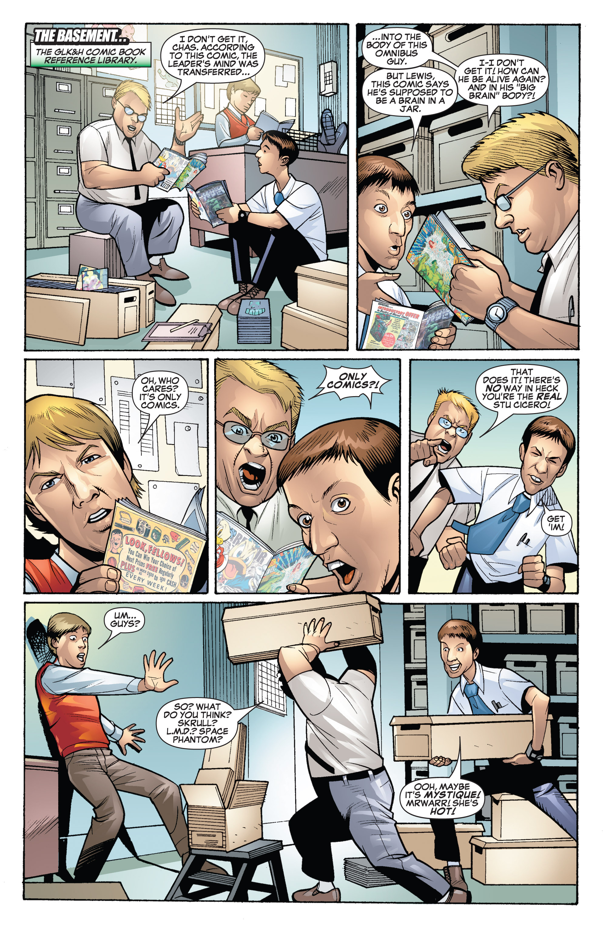 Read online She-Hulk (2005) comic -  Issue #19 - 7