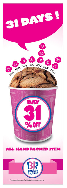 Baskin Robbins Ice Cream 31% Discount Offer Promo