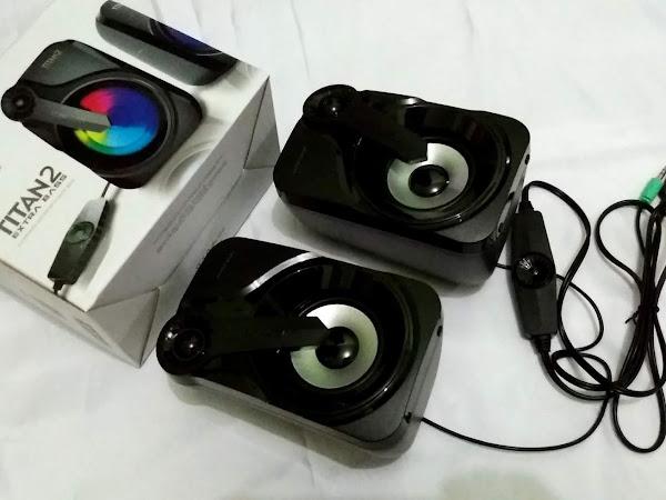 Titan 2 Extra Bass, Speaker Keren dari Sonicgear