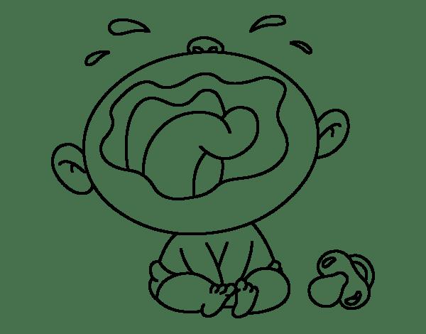 Descargar gratis Clip Art dibujo de  Niño para colorear