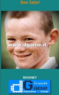 Soluzioni Guess the child footballer livello 1