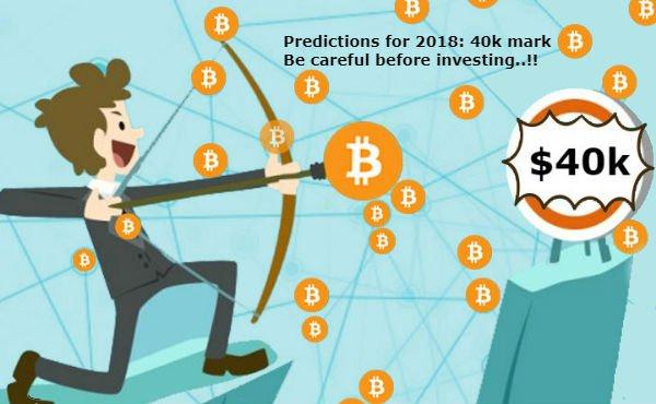 Harga Bitcoin Akan Mencapai $40K Tahun Depan !! Investor Harus Tetap Berhati-hati