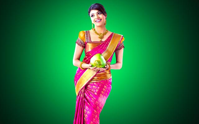 Kajal Agarwal In Magadheera 1080 Full HD
