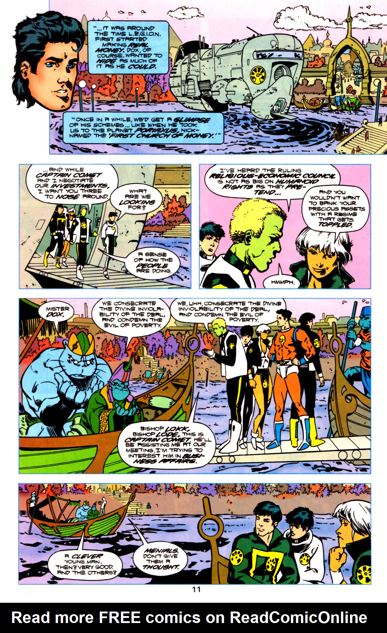 Legion of Super-Heroes (1989) 119 Page 10