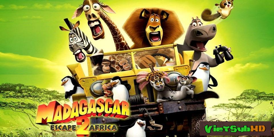 Phim Madagascar 2: Tẩu Thoát Đến Châu Phi VietSub HD | Madagascar: Escape 2 Africa 2008