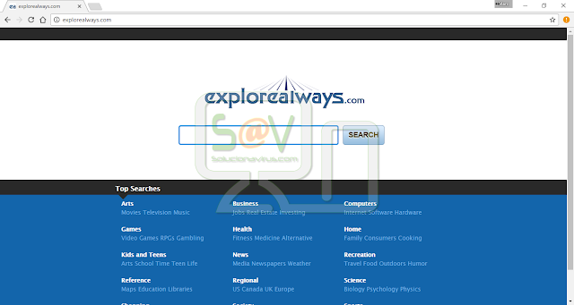 Explorealways.com (Hijacker)