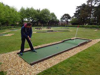Eaton Park Crazy Golf in Norwich