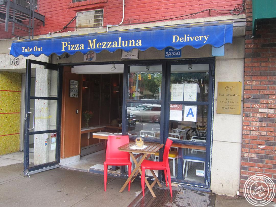 Pizza at Mezzaluna in Soho New York City NY  I Just Want To Eat Food blog Restaurants reviews and recipes