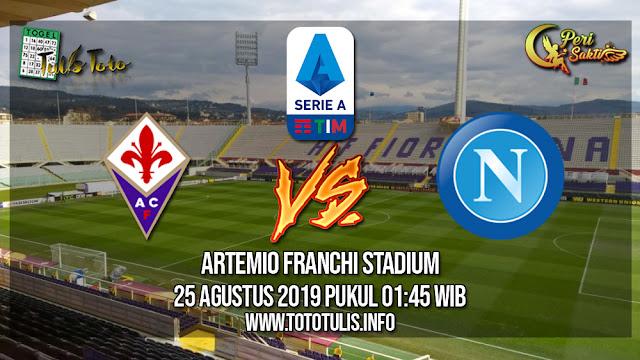 Prediksi Fiorentina vs Napoli 24 Agustus 2019