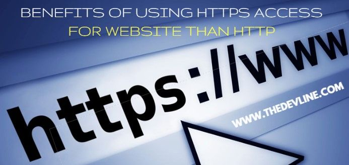using https access