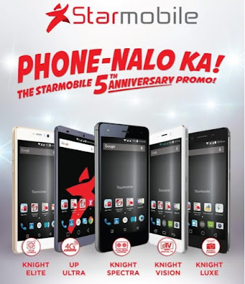 Starmobile Celebrates 5th Anniversary with Phone-Nalo Ka Promo