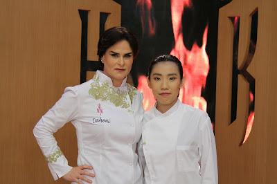 Dahoui e chef Chef Mei Yi - Crédito: Gabriel Gabe/SBT