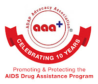 aaa+ ADAP Advocacy Association - Celebrating 10 Years - Promoting & Protecting the AIDS Drug Assistance Program