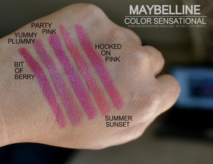 Maybelline Party Pink Weekend Ramblings: 5 L...