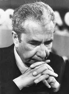 Aldo Moro pictured in 1978, not long before his kidnap by the Red Brigades