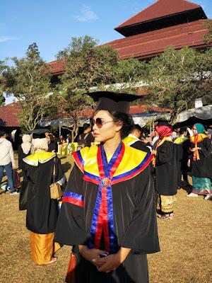 Wisuda UI dan Wisuda Fasilkom UI 2017 Balairung