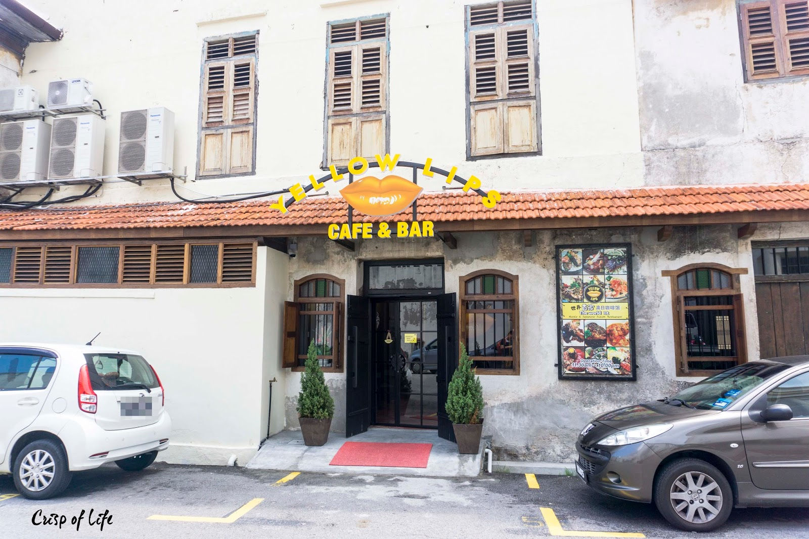 Yellow Lips Cafe & Bar @ Beach Street, Penang
